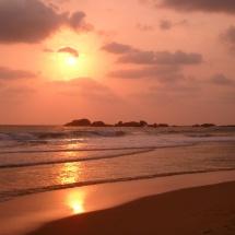 Hikkaduwa Sunset Sri Lanka 2006